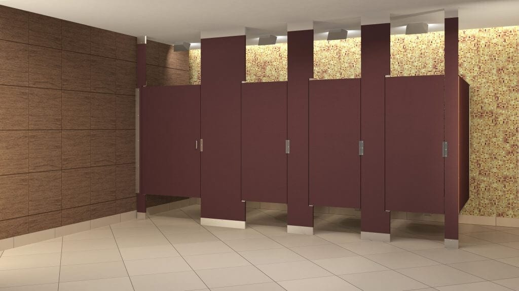 Bathroom Partitions Materials toilet partition | sales & installation - granite state specialties