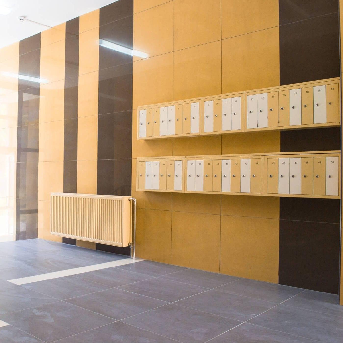 Interior Postal Boxes