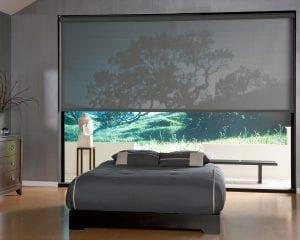 Bedroom Window Solar Shades