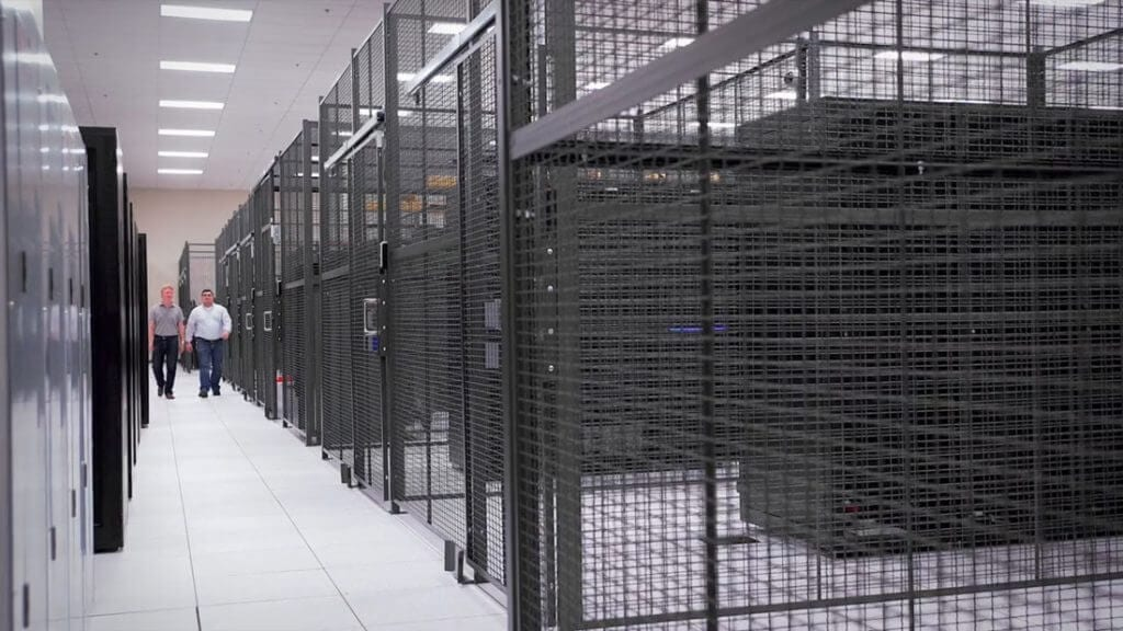 Granite Data Center : Wire mesh security fencing granite state specialties