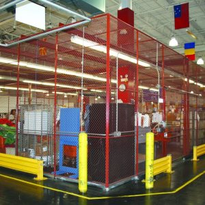 Wire Mesh Security Fencing Granite State Specialties
