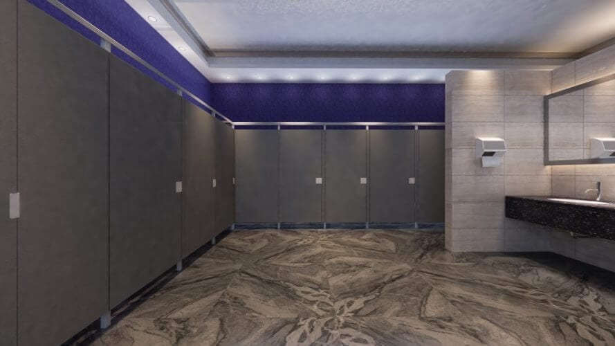 Eclipse Commercial Bathroom Partitions