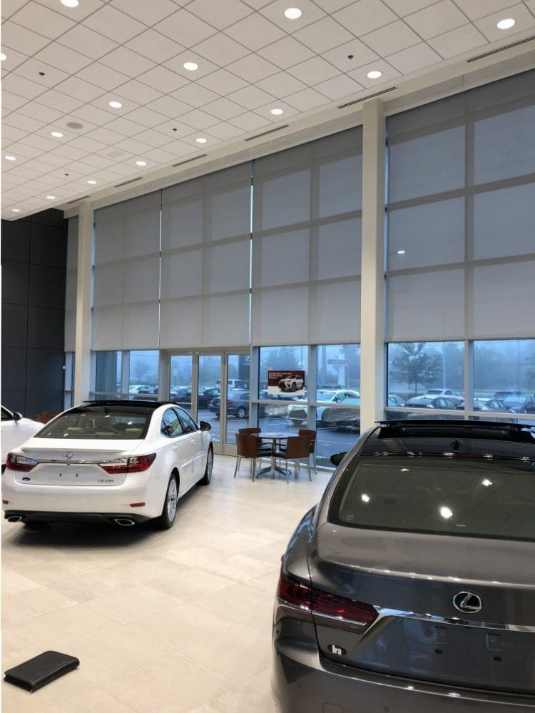 Window Treatments At IRA Lexus In Danvers MA