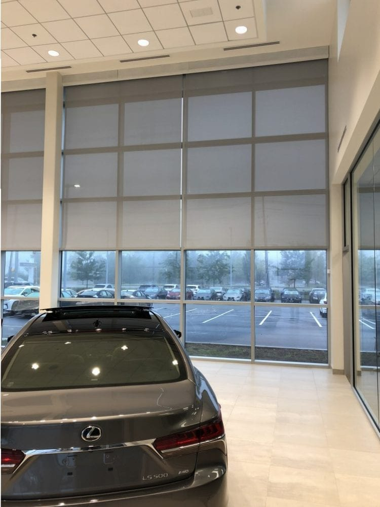 Exceptional Window Treatments At IRA Lexus In Danvers MA