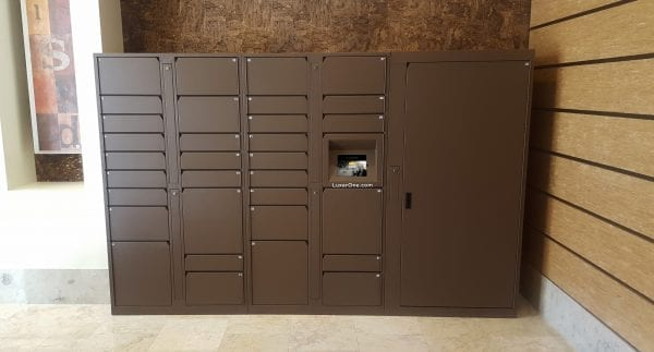 Luxer One Package Lockers