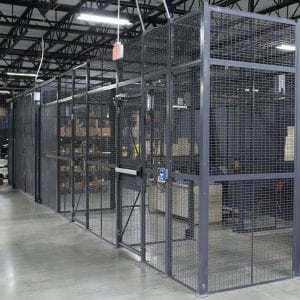 Tool Crib Storage & Secure Storage Cages