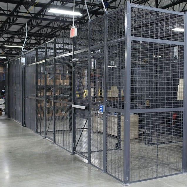Tool Crib Storage & Secure Storage Cages