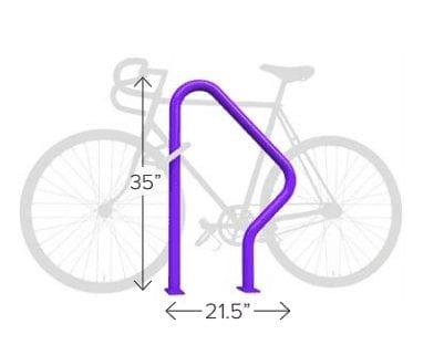 Swerve Bike Rack