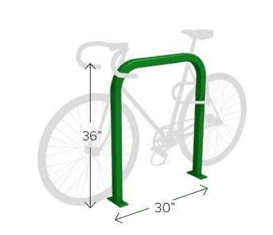 Downtown Bike Rack