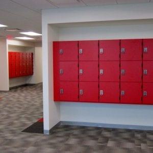 Custom Lockers