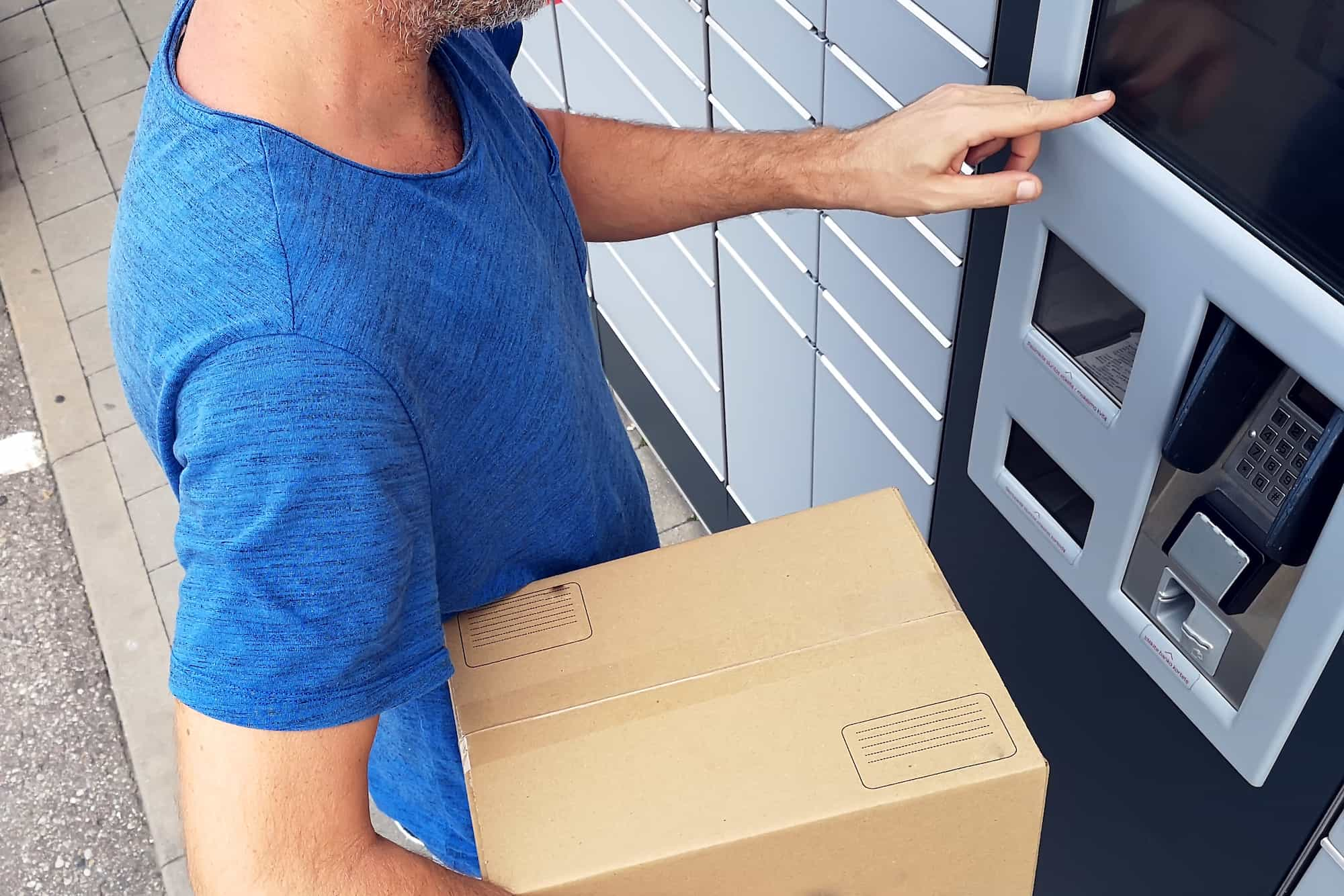 Parcel Lockers - Supply and Installation of Package Lockers