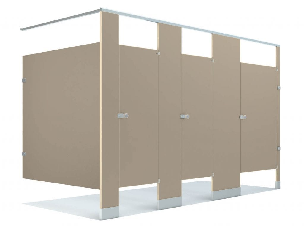 Powder Coated Metal Toilet Partitions
