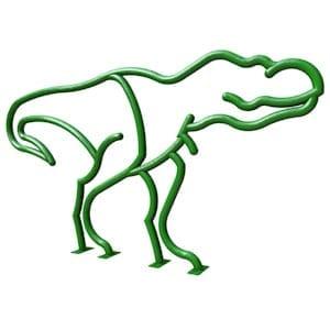 Dinosaur Bike Rack