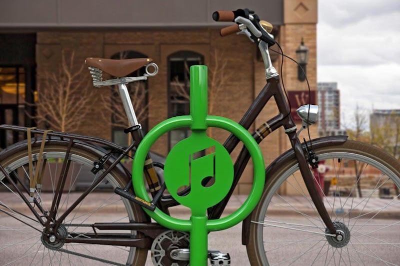 Custom Icon Bike Racks