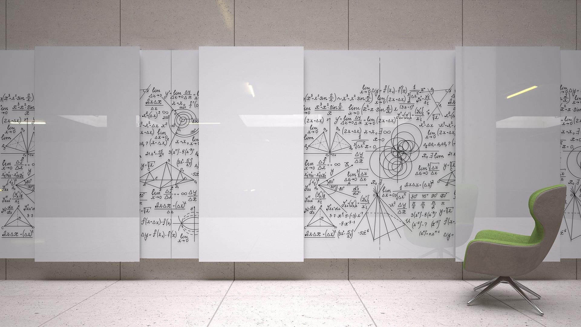 Clarus Glide Wall Whiteboard