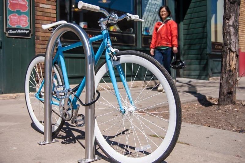 Hoop Bike Racks
