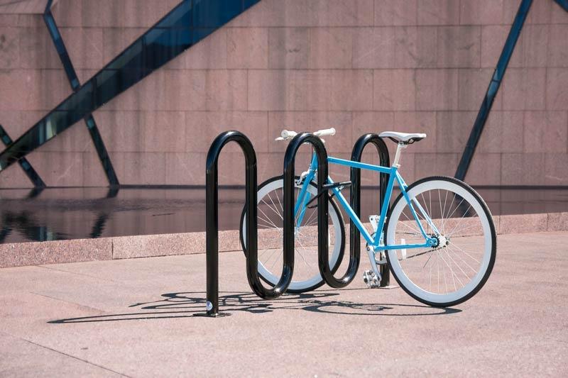 Rolling Bike Racks