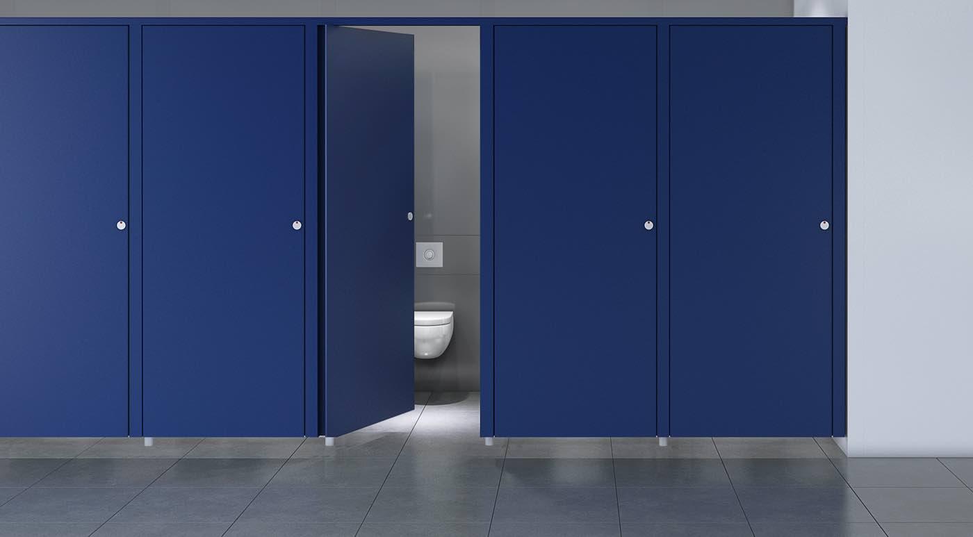 thrislington partitions blue