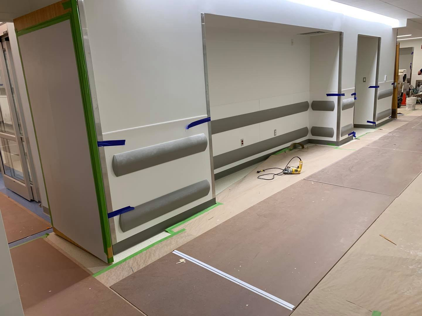 Brigham and Women's Hospital Hospital Wall Protection