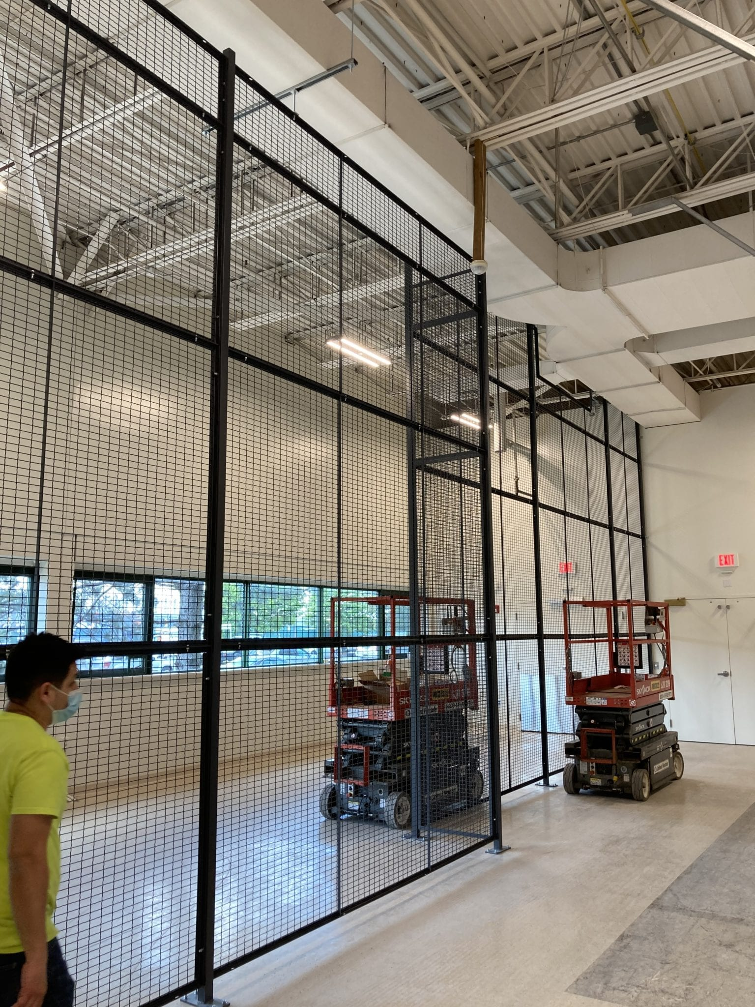 installer working on wiremesah partitions for MGH Biomed